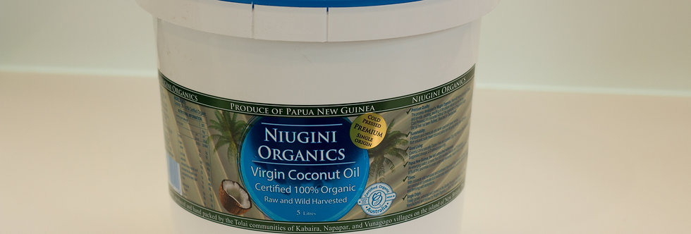 Bulk Organic Virgin Coconut Oil 5L / 20L
