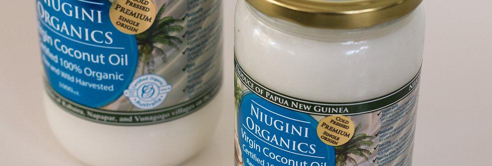 650ml Organic Virgin Coconut Oil