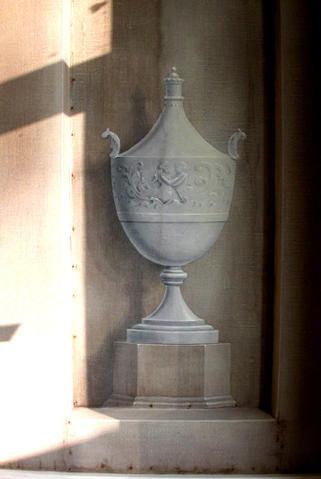 Urn in niche