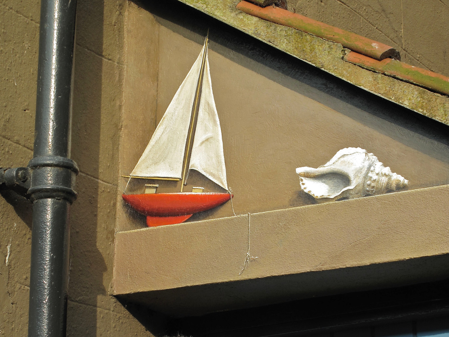 Yacht and Shell