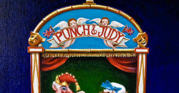 Punch and Judy...detail