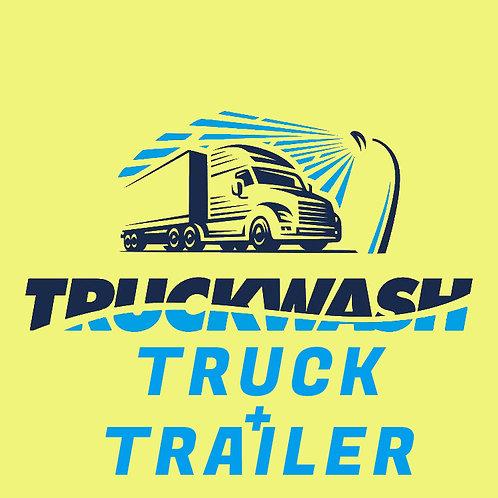 TRUCK + TRAILER WASH