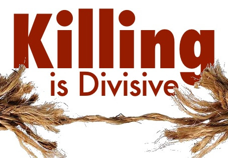 No Kill Learning: KILLING is Divisive (Watch)