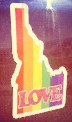 Equality Equity Idaho Love is Love