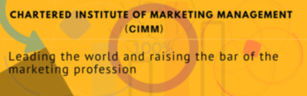 cimm - chartered institute of marketing management. Be a Chartered Marketer - cimm leading the world and raising the bar o the mrketing profession