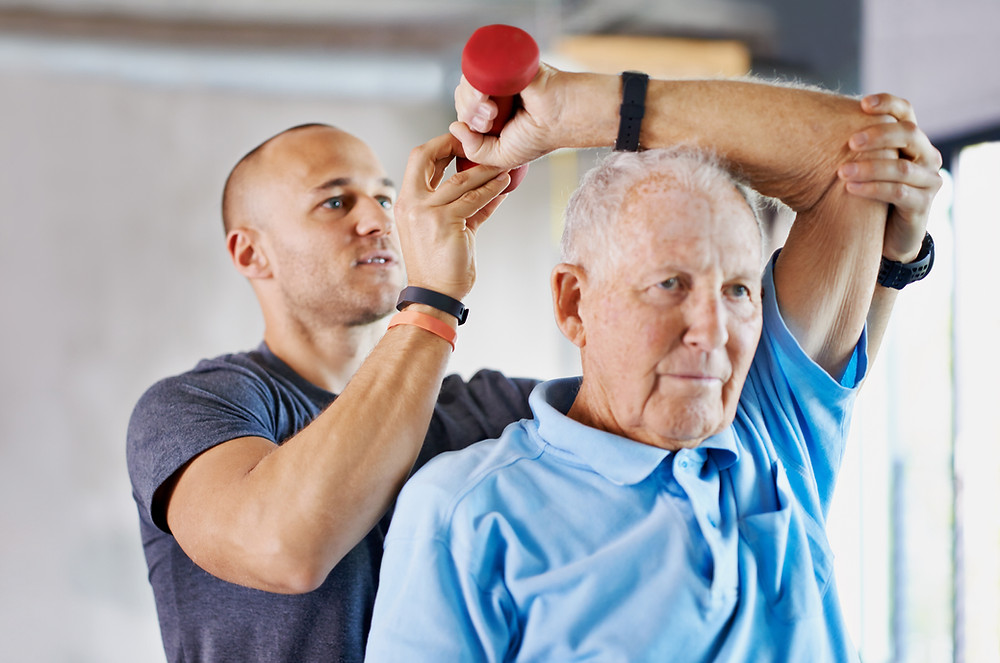 Weights training Elderly