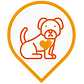 Dog health icon
