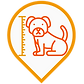Dog height icon