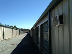 Close Up Of Storage Units
