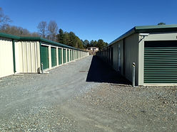 Close Up Of Storage Units