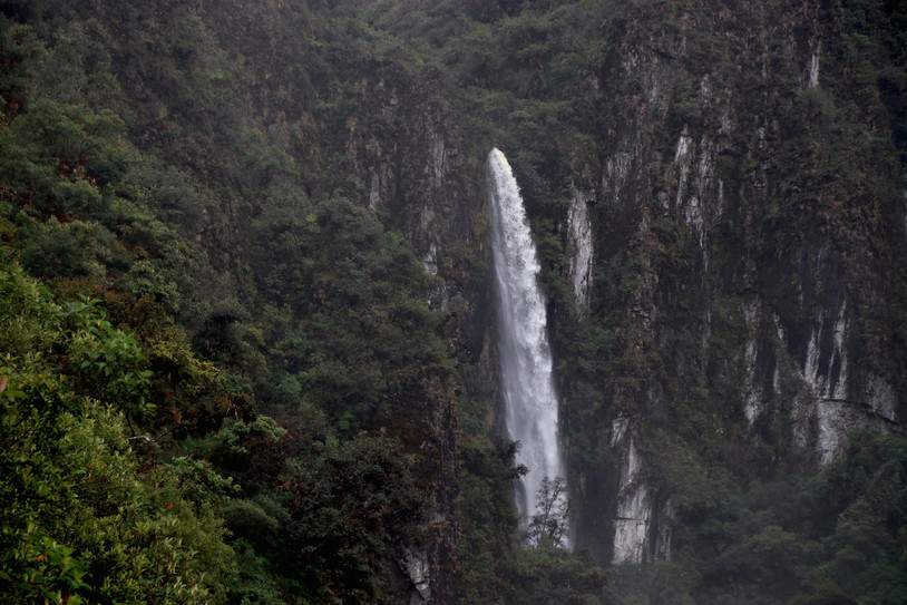 Amazon rivers often begin their journey to the Atlantic as waterfalls.