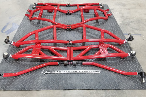 "TTC 6"" Long Travel Kit (Powder Coated)"
