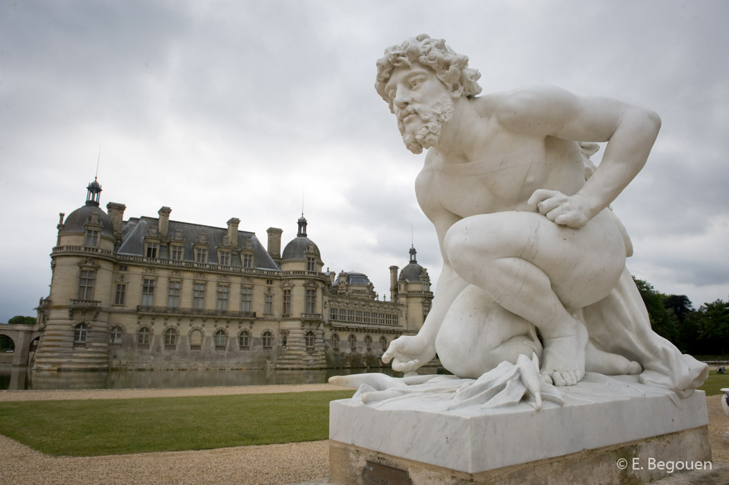 B-chateau de Chantilly