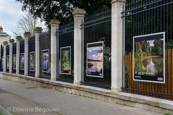 Exposition à Angers sur Les Espaces Naturels Sensibles - 2019