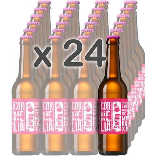 CAIXA x 24 - SWING (Cervesa de Blat amb Toc de Maduixa) 33cl.