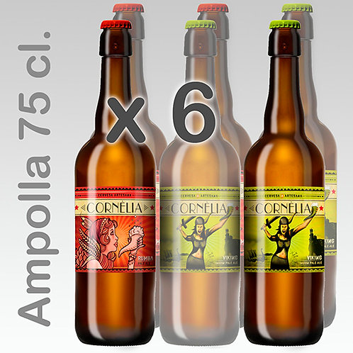 PACK PALE x 6 - 75cl.