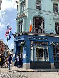 KC Peaches Dame Street - Healthy and nutritional foods in Dublin, Cafe Restaurant