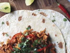 Recipe- Chicken (or Jackfruit) Fajitas and Homemade Spice mix