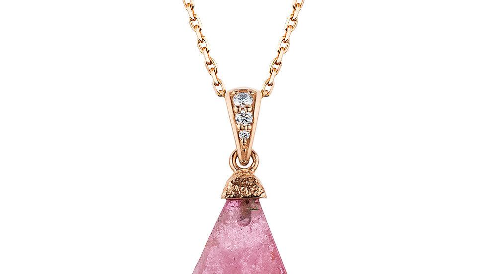 Parti-color Tourmaline Necklace