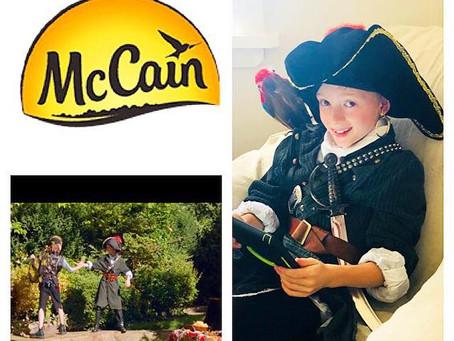 AIDAN GILERT - MCCAIN'S TVC