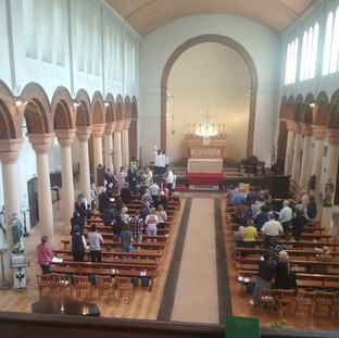 Mass with Baptism at St Peter's