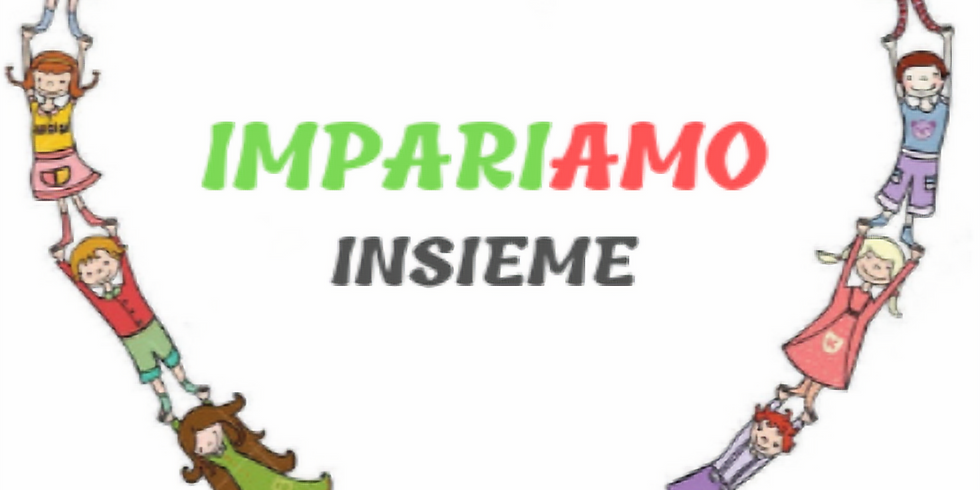 IMPARIAMOINSIEME PRESENTS Live and Online Italian Lessons for Children -    Spring Term 2021