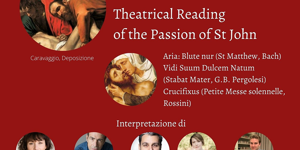 Lettura Teatrale della Passione secondo Giovanni