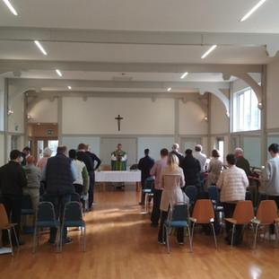 Mass in Church Hall