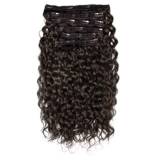 100% Raw Curly Clip-ins Extensions 160g