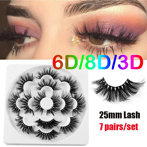 5D Real Mink Lashes CHELSEA