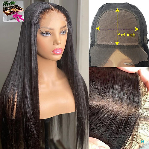 5x5 Silk  Closure Wig