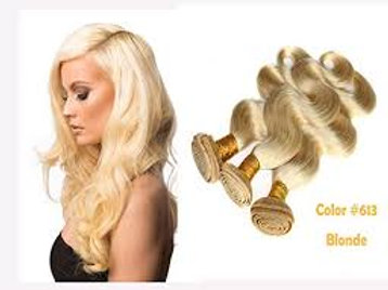 613 Blonde Wavy Wefts