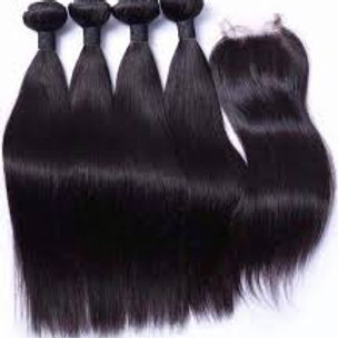4 Bundle Deals Straight Hair