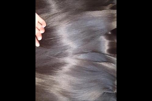 Raw Cambodian Straight  Hair Weft