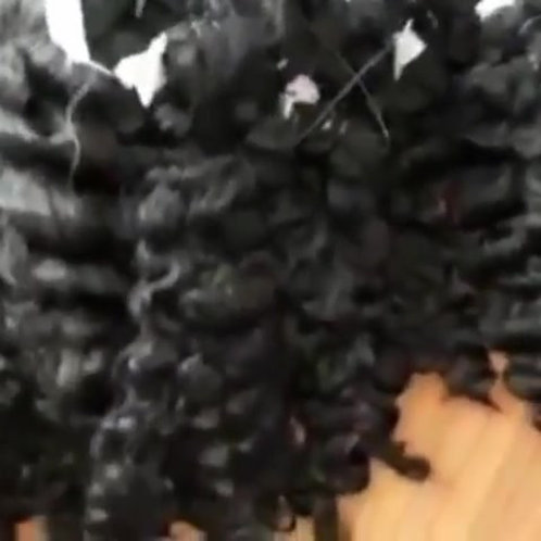 Raw Vietnamese  Natural Curly Hair Weft