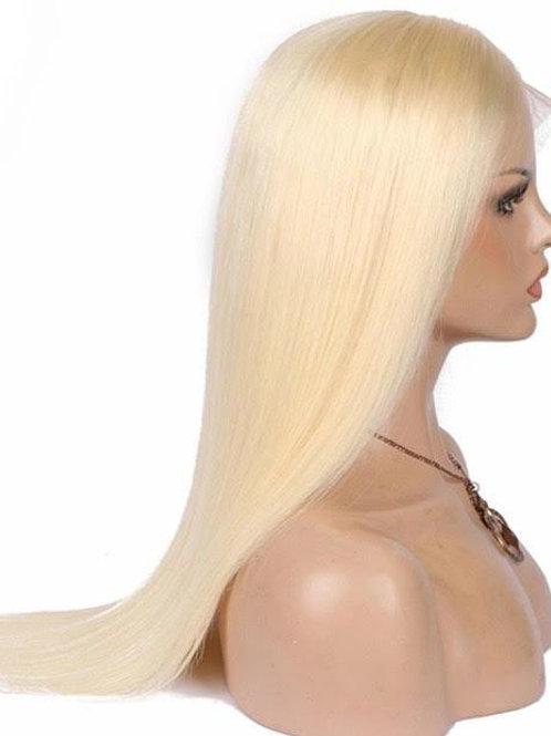 613 Blonde Full Lace wigs 180 % Density