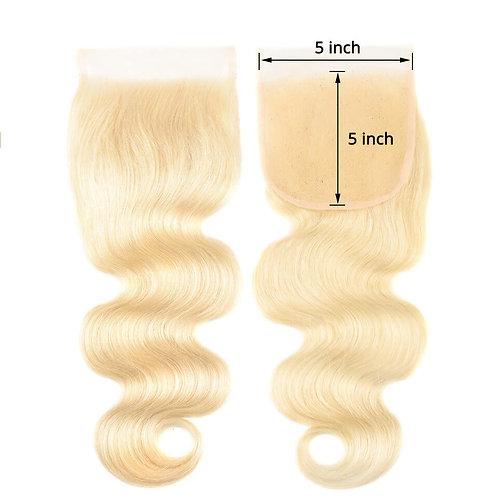 613 Blonde  5x5 Lace Closure