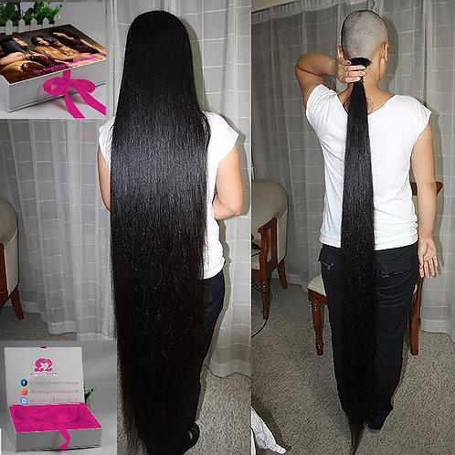 Raw Laotian Straight Hair Weft  (Raw Lao Hair)