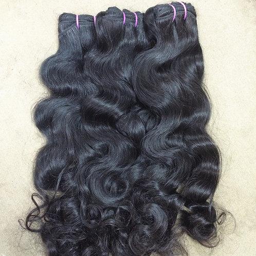 Raw Indian Wavy  Hair Weft