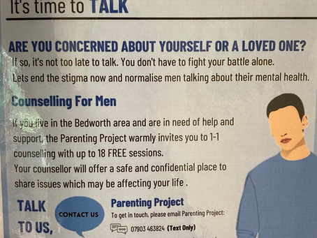 Mental Health -It's time to talk