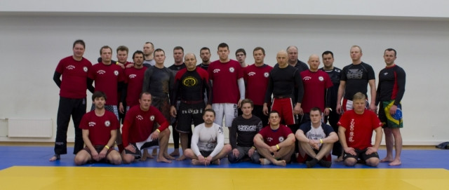 Seminar in Latvia Riga April 2013