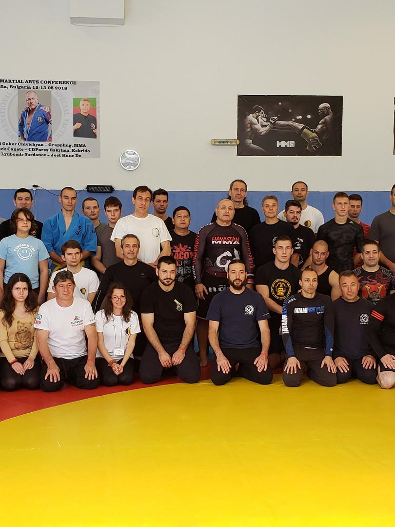 Seminar in Bulgaria 2017