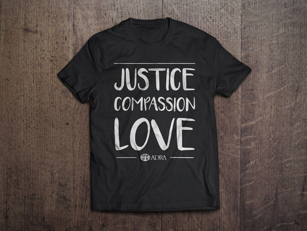 Justice Compassion Love T-Shirt