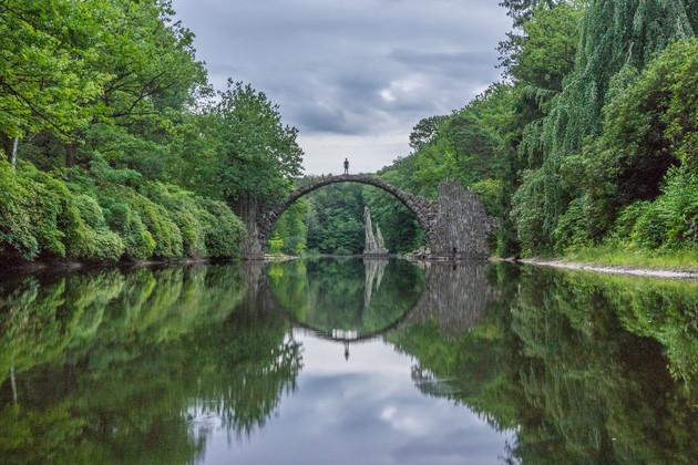 Rakotzbrücke Bridge
