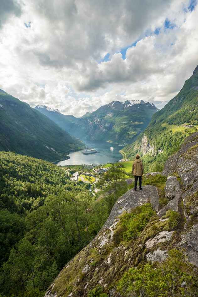 A view of Geirangerfjord