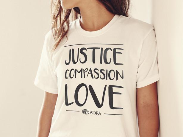 Justice Compassion Love