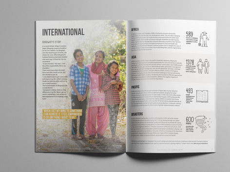 Inside 2017-18 ADRA Annual Report