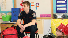 Firefighters Visit VNS