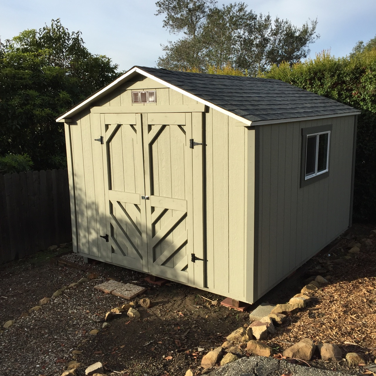 10x12' Storage Shed in Santa Barbara