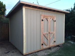 10x12' Storage Shed in Goleta